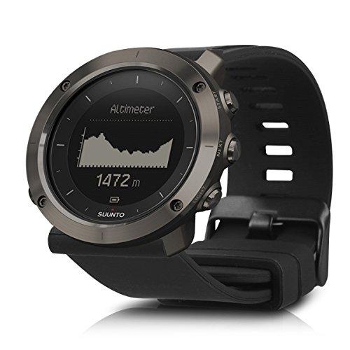 Armband für Suunto Traverse - kwmobile Silikon Sport Ersatzarmband mit Verschluss ohne Fitness Tracker Innenmaße: ca. 15 - 23 cm
