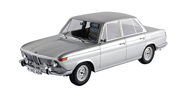 BMW 1800 ti 1965 ARGENTO 1:18 Minichamps