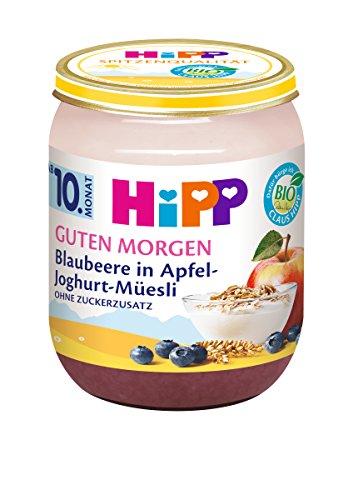 HiPP Guten Morgen Blaubeere in Apfel-Joghurt-Müesli