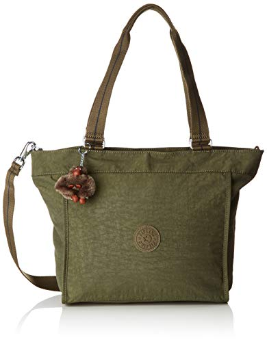 Kipling Damen NEW SHOPPER S Tote, Grün (Jaded Green C), 42x27x13 cm -