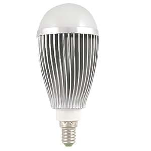 7W 3000-3500K metalen behuizing 7 LEDs Bol Bulb E14 Wit Licht