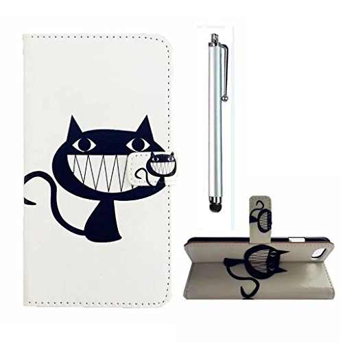 41NeoUq0VKL UK BEST BUY #1MUTOUREN LG K10 Wallet Case PU Leather Magnetic Flip Stand Case Anti Scratch shock absorbing +stylus accessories pen cool cat price Reviews uk