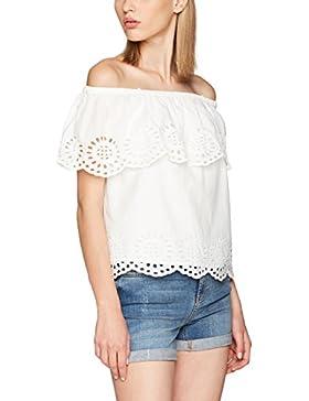 Vila Visimma Off Shoulder Top Gv, Camiseta sin Mangas para Mujer
