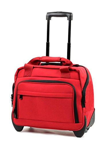 Members Essential Reise-Laptoptasche mit Rädern Red