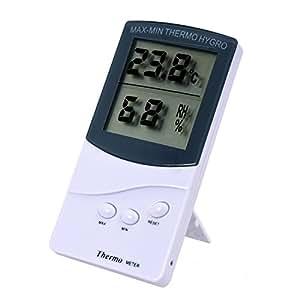 SODIAL (R)Thermometre Hygrometre Testeur D'humidition Numerique