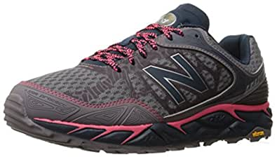 New Balance Women's Leadville Trail Running Shoe, Grey/Pink, 5 D US