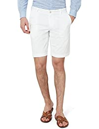 Hammock Men's Solid Chino Shorts - White