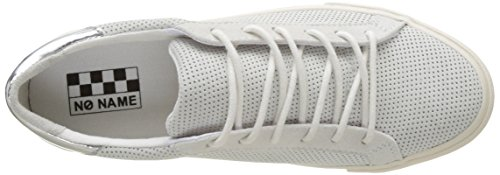 No Name Cngbcv0401, Baskets Basses Femme Blanc (White)
