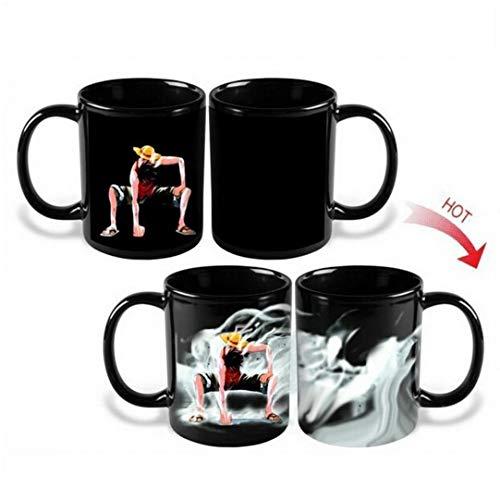 YiaMia Kaffeetasse mit Farbänderung bei Wärmeeinwirkung, Cartoon, Dragon Ball Z,...