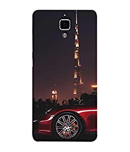 Fuson Designer Back Case Cover for Xiaomi Redmi Mi 4 :: Redmi Mi 4 (shit happen floral flower design)
