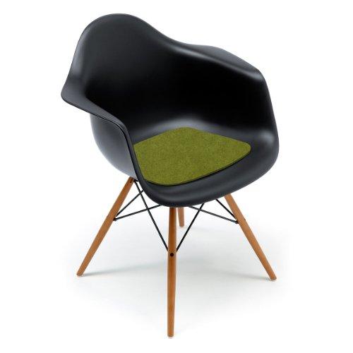 Sitzauflage-Filzauflage Eames Plastic Arm Chairs DAR / RAR / DAW Maigrün Hey Sign