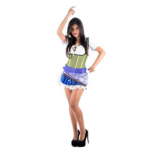 Kostüm Esmeralda Lila