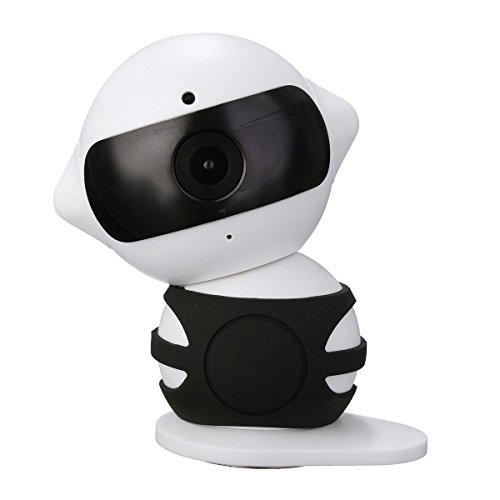 Wireless IP Überwachungskamera – ELEGIANT Mini Roboter 360 Grad Schwenkbar Drahtlose WLAN Wifi - 2