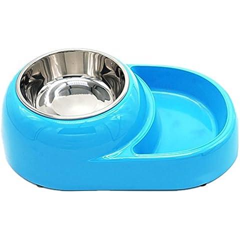 alimento per animali domestici melamina ciotola durevole rimovibile antiscivolo gatto