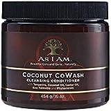 Kokosnötsrengöring CoWash-balsam från As I am, 454 g.