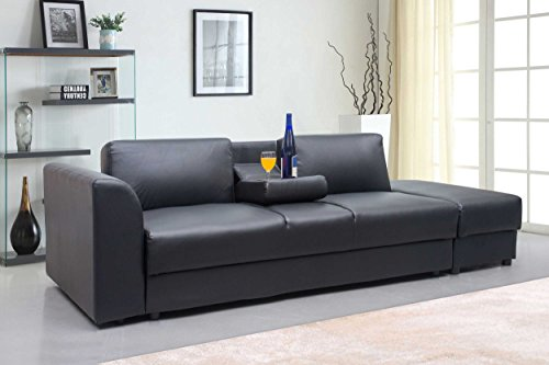 new-modern-faux-leather-kensington-storage-drawers-3-seater-sofa-bed-foot-stool-in-black