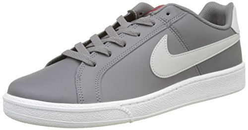 Schuh Grau Womens Nike (Nike Herren Court Royale Gymnastikschuhe, Grau (Gunsmoke/Vast Grey/Gym Red/White), 45 EU)
