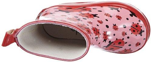 Playshoes Gummistiefel Marienkäfer nieder 180360, Mädchen Gummistiefel, Pink (original 900), EU 18 -