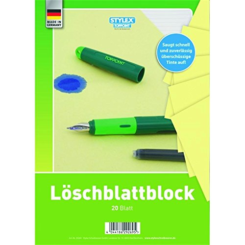 Löschblattblock, A4, 20 Blatt (Blotting-blätter)
