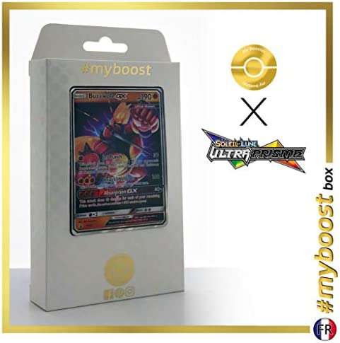 ESAM Coffret #myboost BUZZWOLE GX (Mouscoto) SM69 SM69 SM69 - Sun and Moon 4 Crimson Invasion - 10 Cartes Pokemon anglaises | La Mode De  218ecd