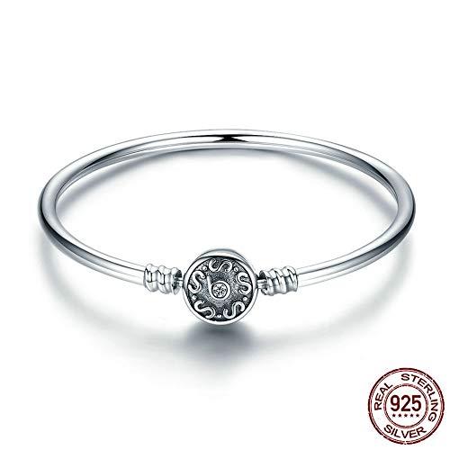 GUANHONG Zirkon Sterling Silber Armband mit verstellbarem Armband Damen Armband, Mode Persönliche Accessoires Mütter Geschenke