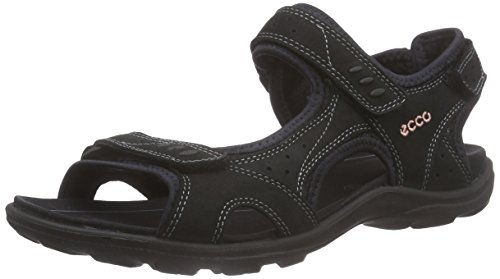 Ecco Kana, Damen Outdoor Fitnessschuhe, Schwarz (BLACK02001), 38 EU (5 Damen UK)