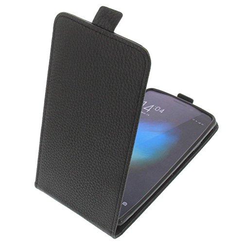 foto-kontor Tasche für Cubot X12 Smartphone Flipstyle Schutz Hülle schwarz