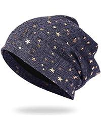 BABAYU Berretti in Maglia Cappello Invernale ed Elegante Modello di Stella  Foderato Invernale 1f4294e550d8