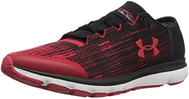 Under Armour – Zapatillas de Running, Red/Black/Red