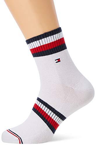 Tommy Hilfiger Herren TH Men PETE Quarter 2P Socken, Weiß (White 300), - Hilfiger Tommy Tennissocken