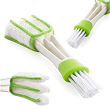 Detailers United 2-in-1 Vent Cleaner & Hard Brush Quickly and Gently Cleans Interior Trim & Vents