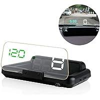 Fansport Auto Driving Display OBD2 Alarma Car Speed Display ElectróNica para AutomóVil Suministros para Auto