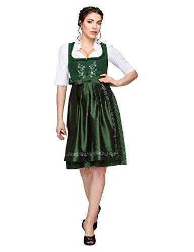Stockerpoint Damen Dirndl Theresa 559, Grün, 40