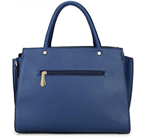 LeahWard Große Taschen für Frauen Qualität Faux Leder Schultertaschen Taschen für die Schule CW0155 (Braun Mit Charme) Aprikose Tragetasche