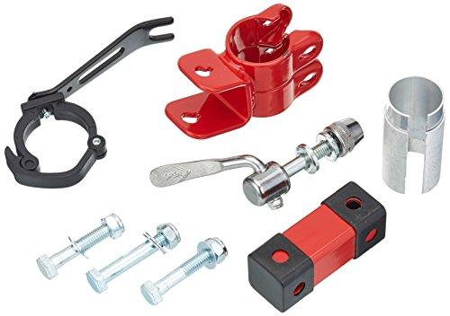 Trail-Gator Ersatzhalter/zweithalter-setPassend für Sattelstütze 25, 4-31, 8 mm, Rot/Schwarz, One size, 93902020