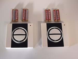 Easy Connect - 66170 - 2 Interrupteurs sans fil ON/OFF