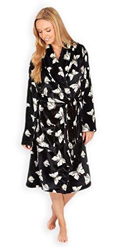 Generic - Robe de chambre - Manches Longues - Femme Noir