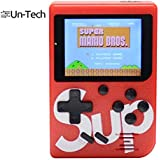 UnTech SUP 400 in 1 Classical Retro Games Box 3.0 Inches TFT Screen Inbuilt Memory- 8 GB Console Handheld Game Pad (Multi Color)