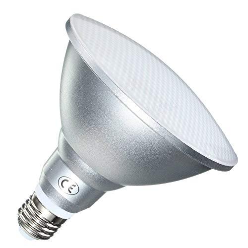 GHC LED Spotlight, Low Voltage 12V Par38 Led-Lampe, E27 LED Punkt-Lampe, 12V LED-Strahler Beleuchtung Warm/Kalt-weißes wasserdichtes, 1Pcs (Emitting Color : Warm White 3000K, Wattage : 18W) -