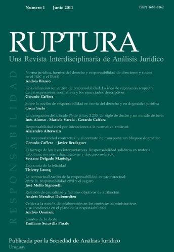 Revista RUPTURA Nro. 1 - Mayo 2011 (Spanish Edition)