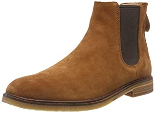 Clarks Herren Clarkdale Gobi Chelsea Boots, Braun (Dark Tan Suede), 43 EU (B07B99XXPV)   Amazon price tracker / tracking, Amazon price history charts, Amazon price watches, Amazon price drop alerts