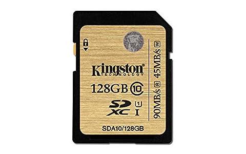 Kingston 128go - Kingston Carte SD Professionnelles SDA10/128GB UHS-I SDHC/SDXC