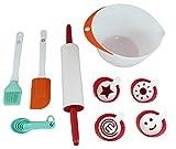 MasterChef Backset für Kinder 13 Teile Spielküche Kinderküchen Zubehör