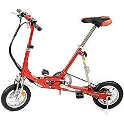 e-4motion e4m001 - Bicicleta eléctrica, color negro