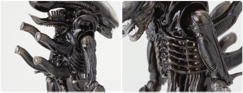 Alien SCI-FI Revoltech Series No.001 Alien Figura De Acción 6