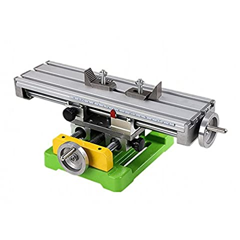 ABEST High Precision Compound Slide Table / Worktable Milling Working Cross Bench Milling Machine Compound Drilling Slide Bench For Mini Bench Drill