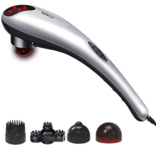 Handheld Muskel-massagegeräte (Handheld Electric Body Massager-Gewebe Gewebe Massagegerät Percussion Massage Maschine für Muskeln Rücken Hals Schulter)