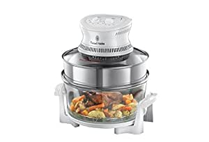 Russell Hobbs Halogen Oven with Timer 18537, 1400 W - Silver