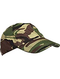 Kids Army Camouflage Cap - Fits Ages 2-14