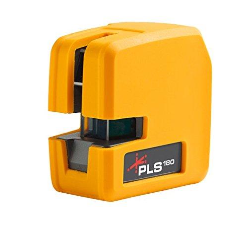 PLS pls-60521N Cross Line Laser, gelb (Self-leveling Laser-line)